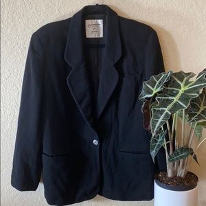 George's Marciano For Guess Cashmere & Wool Blazer